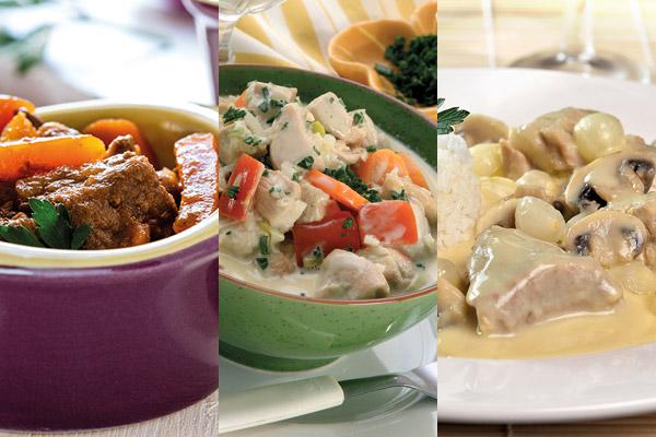 Ingr dients pour les industries des plats cuisin s et viandes pr par es - Congeler des plats cuisines ...